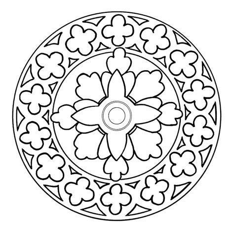mandala coloring pages pinterest pin mandalas para colorear on pinterest