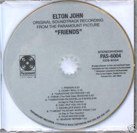 elton john friends now this rocks rare cd elton john quot friends quot soundtrack