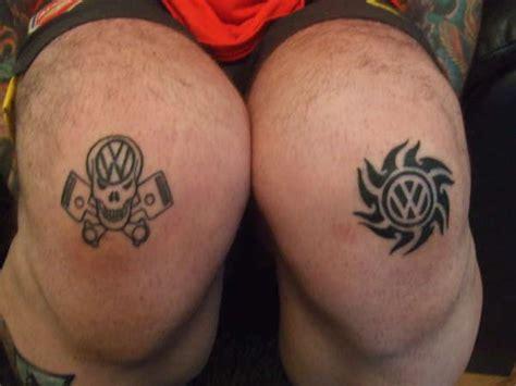 tribal tattoo knee vw knees tattoo