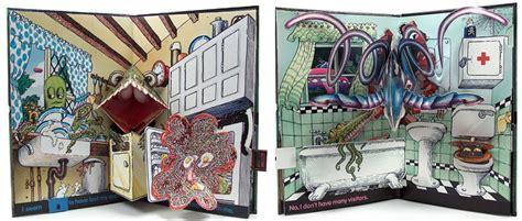 pop up haunted house some delightful illustrations and illustrators who i love john dunbar kilburn s blog
