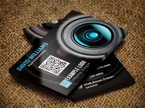 photography visiting card template photographer business card sles ideas startupguys net