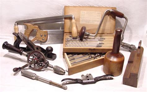 woodworking tool auction antique tools