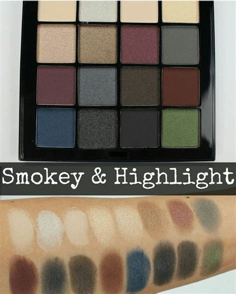 Nyx Ultimate nyx ultimate eyeshadow palette swatches makeup