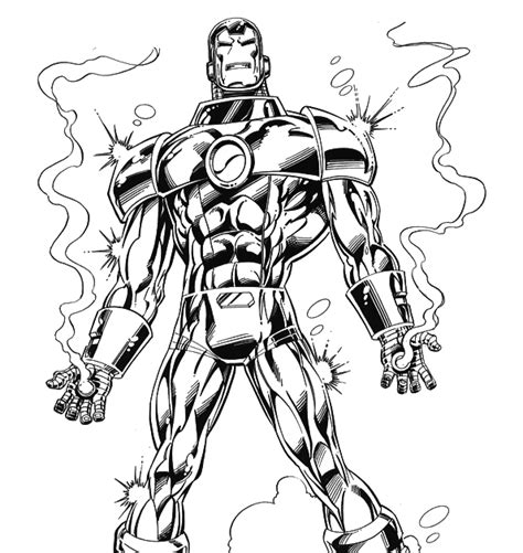 iron man heartbreaker coloring pages marvel iron man coloring pages