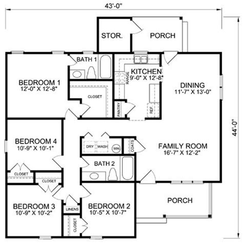 4 bedroom cabin plans plan 46022hc craftsman home with master sitting room