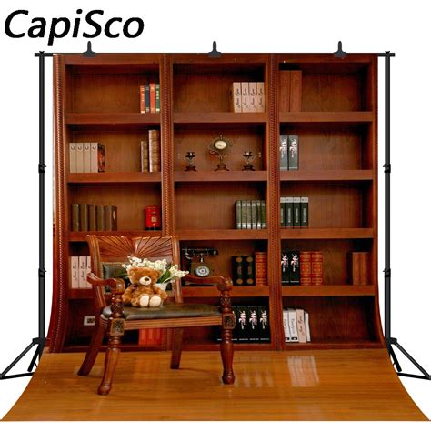 capisco study room bookshelf chair bench photography backgrounds customized photographic
