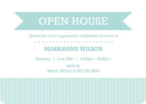 Mba Open House Tips by High School Graduation Ideas Themes College Open
