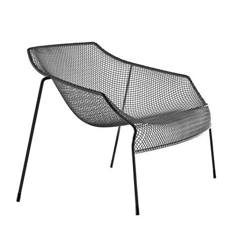 Fauteuil Noir 2684 by Heaven D Lounge Chair Emu En M 233 Tal Empilable Pour