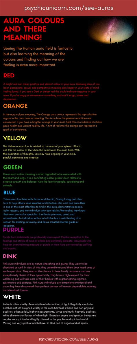 aura color meanings best 25 aura colors ideas on aura colors