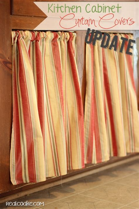 kitchen door curtain ideas easy breezy new cabinet curtains kitchen cabinet ideas