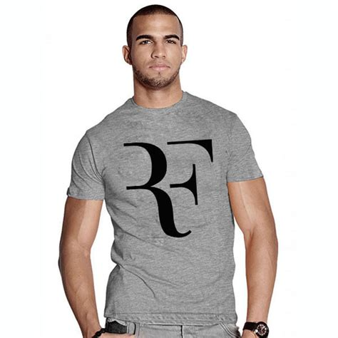 T Shirt Roger Federer 2 fashion new rf t shirt roger federer tennis t shirt