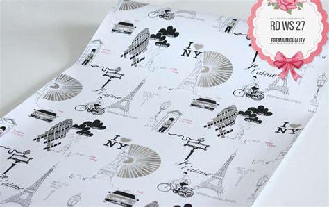 Wallpaper Sticker Ruangan 10 28pr Grade A Premium rdws 027 wallpaper sticker premium quality 45cmx10m
