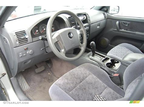 2004 Kia Interior 2004 Kia Sorento Ex Interior Car Interior Design
