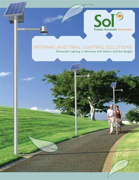 pathway solar lights solar pathway trail lighting