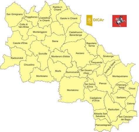 comuni provincia di pavia accelerogrammi di riferimento provincia di siena