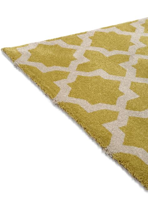 teppich geometrisch benuta teppich arabesque gelb 60002844 ornament