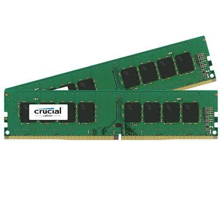 Crusial Olshop 288 crucial technology 32gb 2x 16gb 288 pin udimm ddr4 pc4 19200 module kit ct2k16g4dfd824a