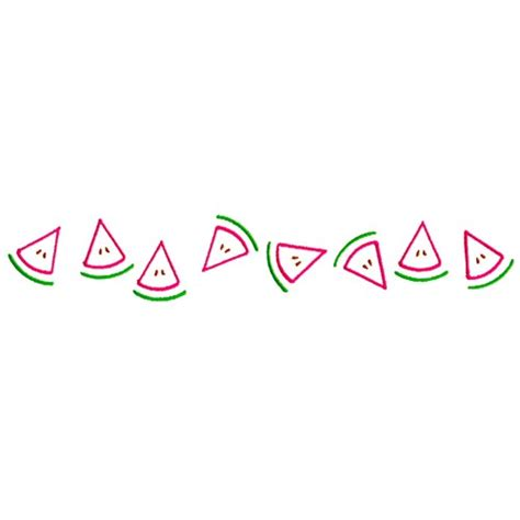 watermelon on the border outlines embroidery design watermelon border from grand