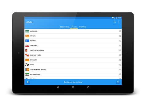 emisoras radio españa lista miradio fm espa 241 a aplicaciones de android en google play