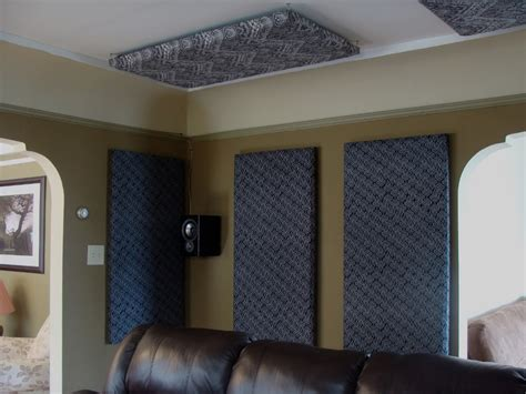 soundproof home theater room how to build your own acoustic panels diy