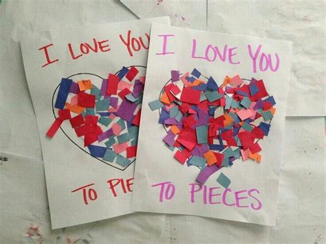preschool card ideas you to pieces s crafts crafts for