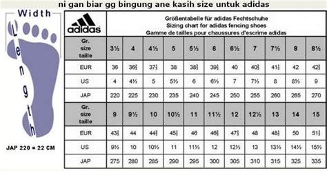 konversi ukuran sepatu suba21shop tabel konversi ukuran sepatu adidas