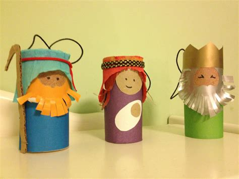 nativity paper craft explore and express toilet paper roll