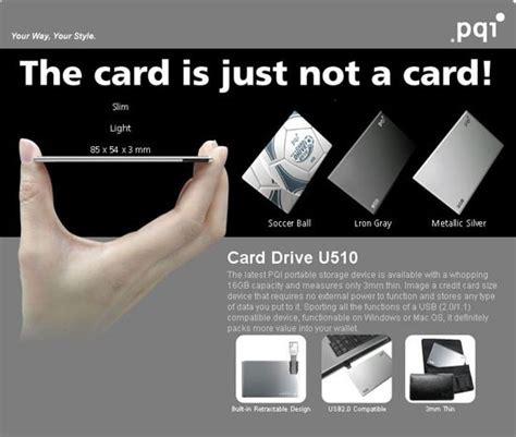 Credit Card Size Format Une Cl 233 Usb Format Carte De Cr 233 Dit De 16 Go