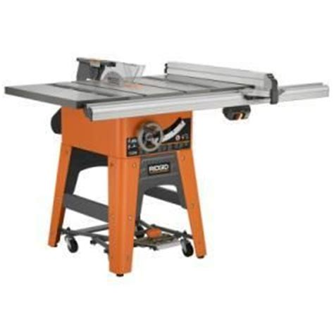 Ridgid Table Saw Review by Review Ridgid Ts3650 Table Saw By Gray