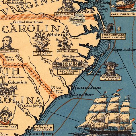 historical map of the united states historical pictorial map of the eastern united states