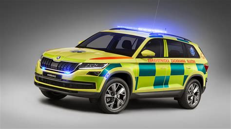 Koda Car Wallpaper Hd by Skoda Kodiaq Ambulance 4k Wallpaper Hd Car Wallpapers