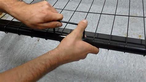 futon hooks futon frame assembly video steps 7 8 youtube