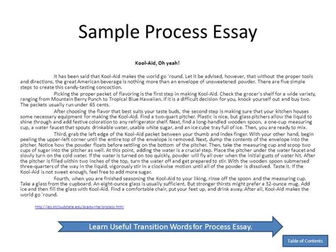 Process Essay by Community Service Thesis Statement Essay About Service To