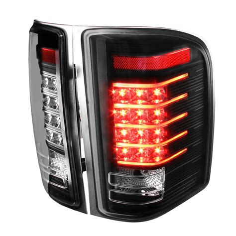 07 silverado lights 07 14 chevy silverado led brake lights black