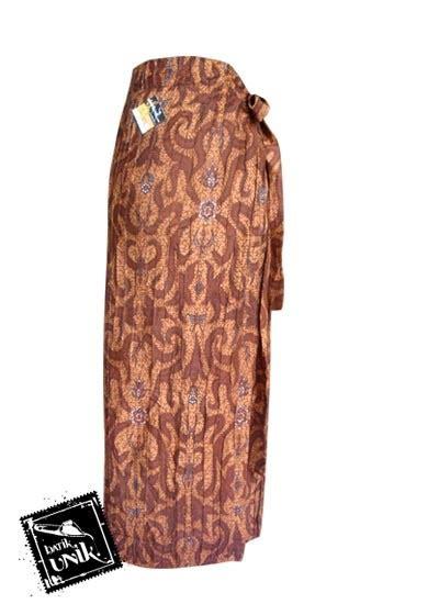 rok batik lilit jarik lipit motif etnik bawahan rok