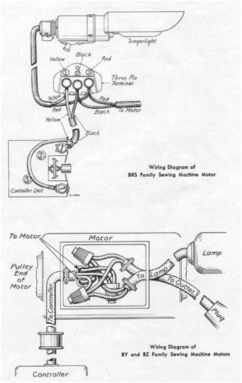 singer 15 91 wiring diagram search vintage