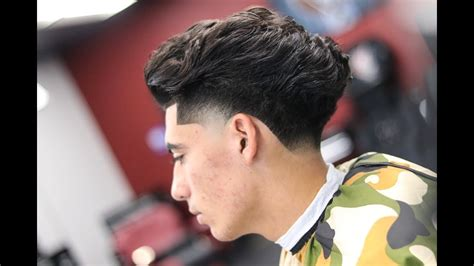 pauly d hairstyles barber tutorial pauly d blow out taper youtube