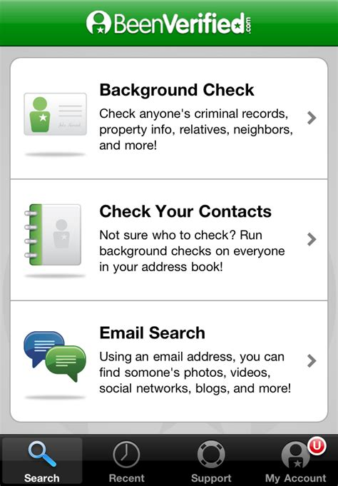Sentry Background Check Background Check App Beenverified Utilities Reference Free App For Iphone And