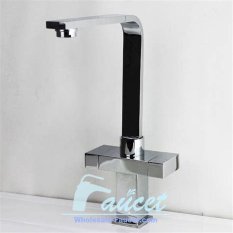 Modern Square Kitchen Faucets by Square Design Two Handles Kitchen Faucet Modern