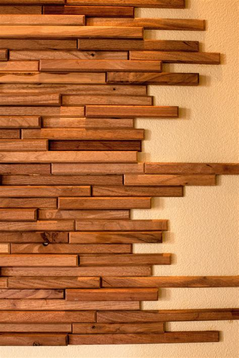 wall of wood wood tiles by everitt schilling wood wall tiles wood