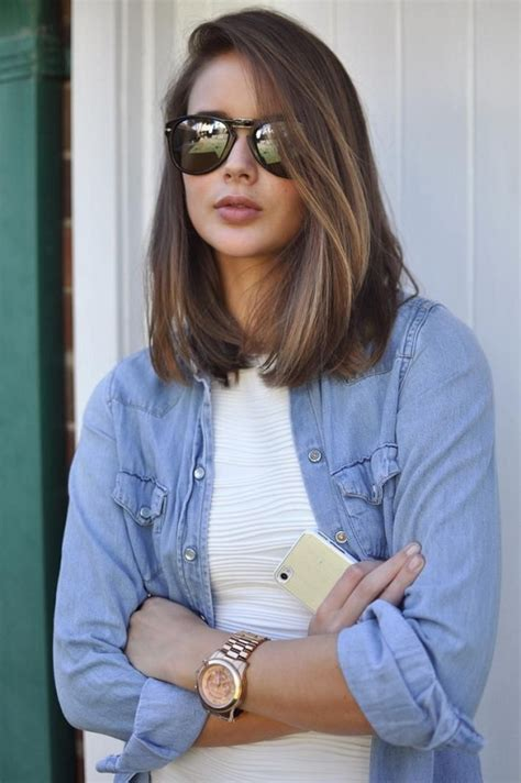 collar length hairstyles for express o collarbone length bob