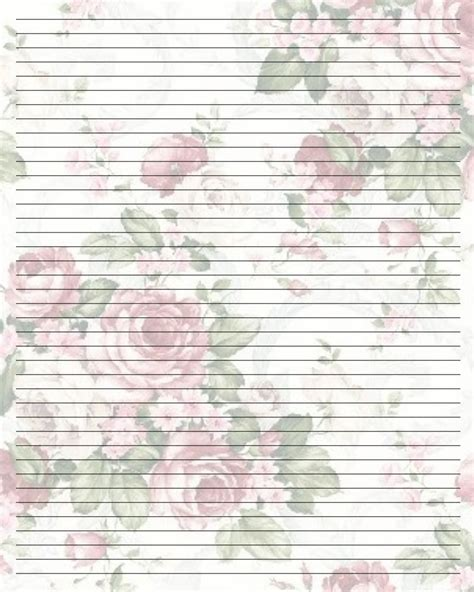 printable vintage notebook paper pretty writing paper printable google search papel