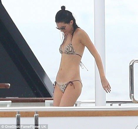 boat show charlotte 2017 kendall jenner relaxes on yacht in monaco with lewis