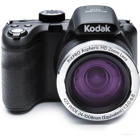camaras digitales kodak kodak pixpro az421 digital black az421 bk b h photo
