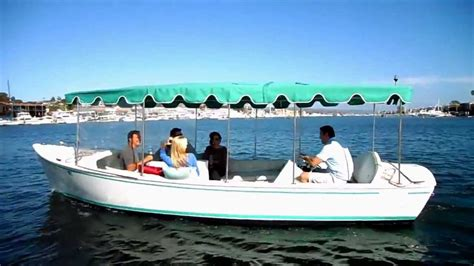 duffy boat rental redondo beach duffy electric boat rentals in newport beach harbor youtube