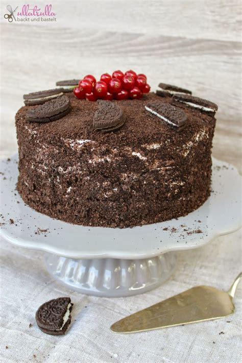 oreo kuchen rezept einfach http ullatrullabacktundbastelt de torte mit
