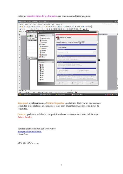 tutorial web creator pro 6 pdf tutorial pdf creator