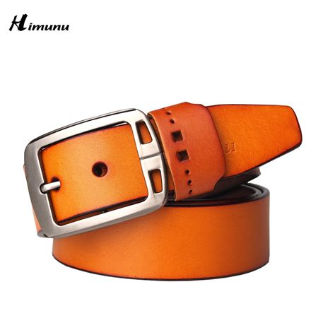 2015 new product mens belts luxury genuine leather brand