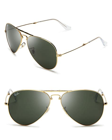 aviator sunglasses without top bar ray ban foldable top bar aviator sunglasses bloomingdale s