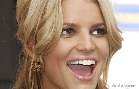 celeb oral how jessica simpson can still have great teeth even
